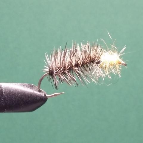 Caddis worm yellow head